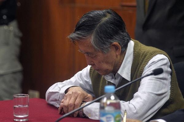 Alberto Fujimori es internado en clínica por problemas con la saturación de oxígeno