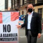 Alejandro Muñante: «La Asamblea Constituyente es incompatible con una política de reactivación económica»