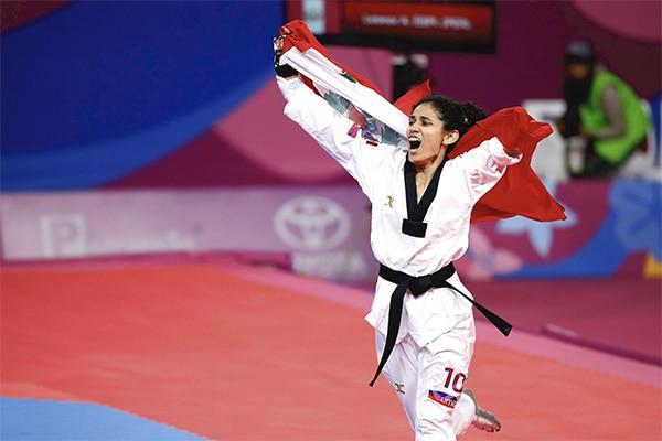 Angélica Espinoza es la número 1 del ranking mundial de parataekwondo