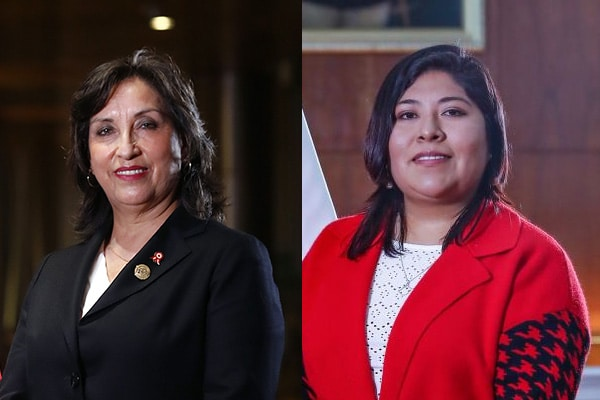 Dina Boluarte y Bettsy Chávez: «Siempre trabajaremos de cara al pueblo, no nos amedrenta la amenaza de expulsión»