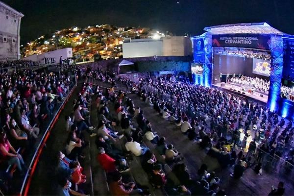 México: Celebran icónico Festival Cervantino