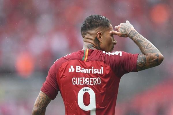 Paolo Guerrero no es más jugador del Inter de Porto Alegre