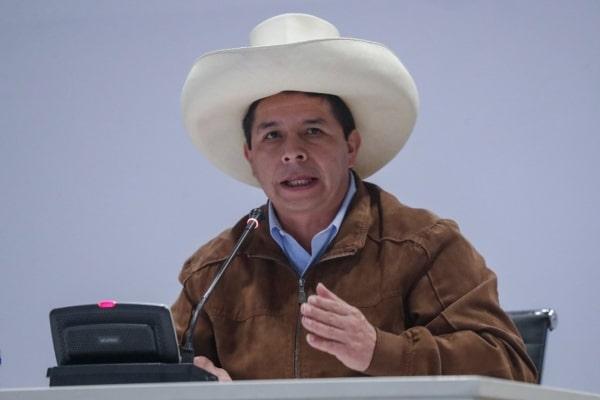 Pedro Castillo fija diez ejes como Política General de Gobierno