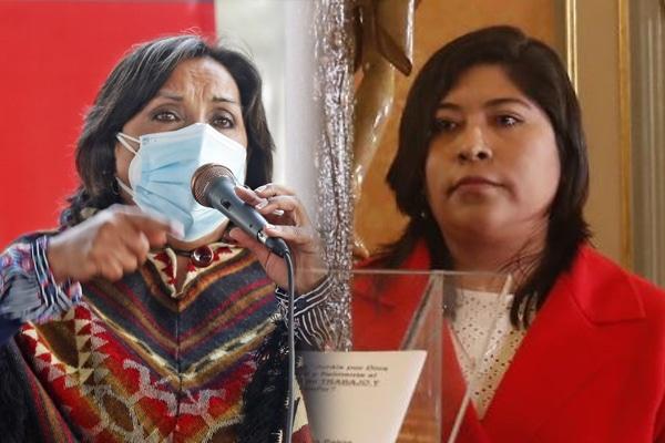 Perú Libre afirma que ministras Chávez y Boluarte no los representa