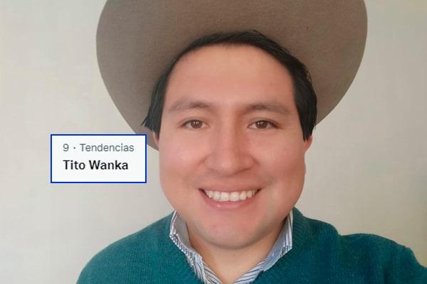 Tito Wanka se convierte en tendencia por polémico tuit: «No más Miguel Grau en un país de Avelino Cáceres»